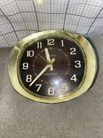 Vintage Westclox Big Ben Windup Alarm Clock Glow In The Dark TESTED