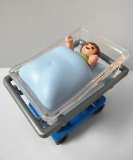 Playmobil Crib & baby figure for hospital/maternity sets NEW
