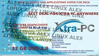 Xtra-PC PRO 32 GB USB 3.0, 10 Application SUITE+10 GAMES+YOUTUBE DOWNLOADER