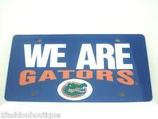 Florida Gators NCAA WE ARE GATORS License Auto Tag Plate NEW