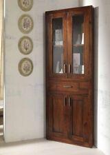 ANGOLIERA VETRINA ETNICA COLONIALE LEGNO Angoliere Etniche Vintage Rustiche CHIC