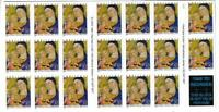 US SCOTT 3112a BOOKLET OF 20 CHRISTMAS MADDONA STAMPS 32 CENT FACE MNH