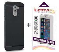 Combo Of Lenovo K8 Note Back Cover Case Tempered Glass Lenovo K8 Note