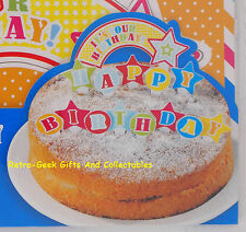 Easy Kids Baking Happy Birthday Pop Top Cake Topper Decoration By Talking Tables