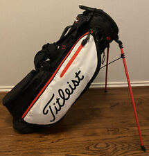 Excellent Barely Used Titleist Players 4 Plus 4+ Stand Bag 2019