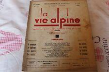 LA VIE ALPINE 19  revue du régionalisme dans les alpe française 1929