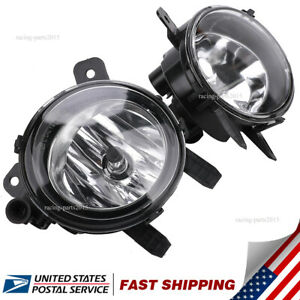 SET OF FOR BMW 2014-2017 F32 F33 F36 4 SERIES COUPE REPLACEMENT FOG LIGHTS PAIR