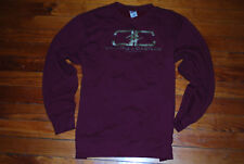"Men's Crooks and Castles Dark Red ""Modern"" Logo Sweatshirt (XX-Large)"