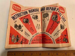 1973 Penn Reels Catalog 35B