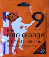 Rotosound RH9 RotoOrange Electric Guitar Strings Gauge 9-46  - Made in the UK