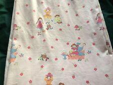 "Vintage Laura Ashley Nursery Curtains  60"" W x 54"" D - Dressing Up"