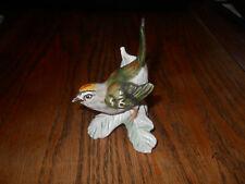 """Vintage Goebel Porcelain """"Firecrest"""" Bird Figurine, Germany, 1967"""