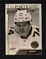 2017-18 UD Upper Deck Series 2 Portraits Rookies #P-93 Owen Tippett RC