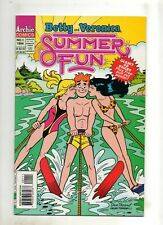 Betty and Veronica Summer Fun #1 BIKINI Water Skiing COVER! 1994 48-Page VF 8.0