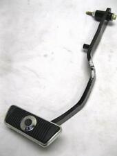 """1967-1969 Ford Mustang Black Power Brake Pedal Arm 16.5"""" Length 4-5/8"""" Insert"""