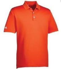 adidas Mens Orange Polo T-shirt Mens Size UK XS *REF98