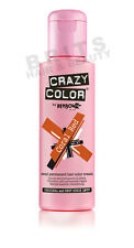 Renbow Crazy Color Hair Dye Colour Cream 100 Ml Bottle 25 Vibrant Shades Coral Red