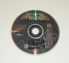 Stupid Invaders GAME DISC 1 ONLY for your SEGA DREAMCAST system - USA