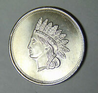 Indian Head Cent Design 1 oz .999 Fine Silver Round (83018)