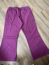 Cherokee Style 4101 Scrub Pants Extra Large Xl Burgundy Wine/Winw