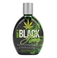 Millennium  PAINT IT BLACK HEMP Dark Bronzer Tanning Lotion 13.5 oz