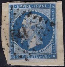 FRANCE 14B (o) Napoléon III Empire franc. cachet losange (1)