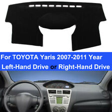 Adorno De Plata CT24TY22 Doble Din Fascia Panel Adaptador Para Toyota Yaris 2007-2011