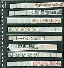 Lindner lucidez fundas de vidrio claro, con negro entre hoja en el 10er Pack 828