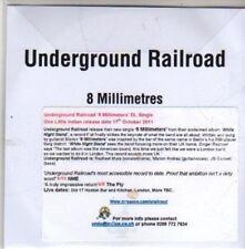 (CB668) Underground Railroad, 8 Millimetres - 2011 DJ CD