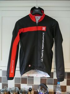 """Castelli Team 3T """"Ultimate Performance"""" Gore Windstopper Cycling Jacket Medium"""