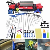 115x PDR Whale Hooks Rods Auto Paintless Dent Removal Tool Kit Hail Dent Removal