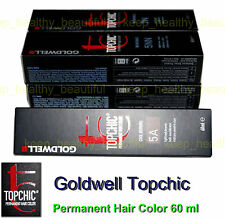Goldwell Cream Permanent Hair Colouring