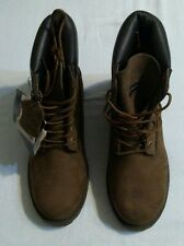 CROSSFIRE Outdoors Gear Women's Leather Ankle Boots, Brown/Black, Size 5 NEW WOB
