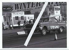 "1960s NHRA Drag Racing-Doug Nash's 1965 Mercury Comet-""the CYCLONE""-Pomona"