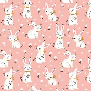 Easter Wrapping Paper,Happy Easter Wrapping Paper,Easter Gift Wrap,Cute Rabbit