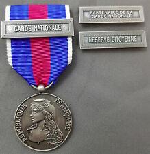 Médaille Sécurité Interieure Miniature Classe Argent