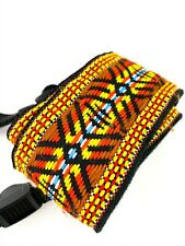 Camera Neck Shoulder Strap Red Yellow Blue