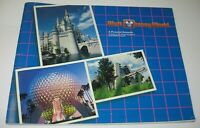 Vintage 1986 Walt Disney World A Pictorial Souvenir Book EPCOT FREE Ship