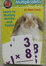 Multiplication 31 Flash Cards for Ages 5+. *New with Defects*.