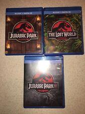 Jurassic Park-Jurassic Park Iii-Jp The Lost World 3 Blu-Ray 3 Movies