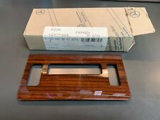 Mercedes-Benz 300CD Cover Console Wood Covering Temp Control