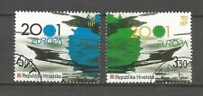 Cept / Europa   2001      Kroatien  gest