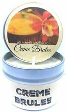 Creme Brulee 4oz All Natural Soy Candle Tin Handmade in Rolla Missouri
