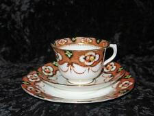 VINTAGE Royal Albert Crown China Trio Imari Pattern THOMAS WILD & SONS 1920s