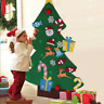 3Ft Christmas Deluxe Felt Tree Kids Door Wall Hanging Toddler DIY Decorations