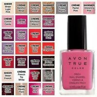 Avon True Color Pro+ Nail Enamel SHEER LIGHT PINK Fresh Stock! Discontinued NIB