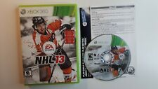 NHL 13 (Microsoft Xbox 360, 2012) - FAST AND FREE SHIPPING CANADA !!