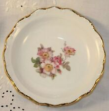 SCHUMANN BAVARIA BRIAR ROSE GOLD TRIM FRUIT/DESSERT BOWLS - Excellent