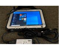 Panasonic ToughPad FZ-G1 i5-6300U 2.40Gh 8GB RAM 128GB SSD WIFI 4G CAM W10 Pro