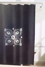 "Grammercy Studio Embroidery Fabric Shower Curtain 70"" x 72"" NIP"